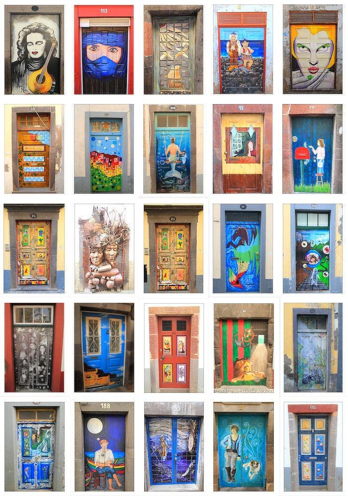 Türen von Funchal